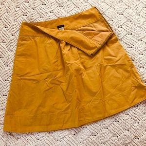 J. Crew circle floppy skirt